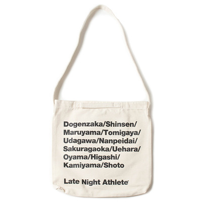 LATE NIGHT CITY SHOULDER BAG_WHITE