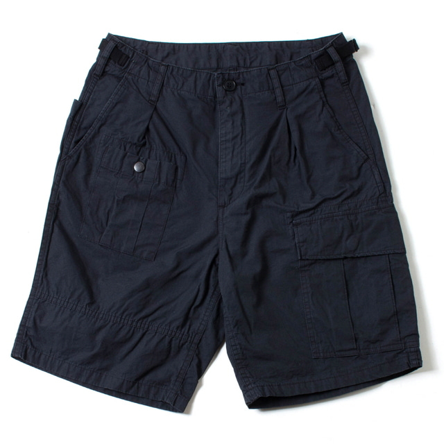 CANVAS HANDS-FREE SHORTS_BLACK
