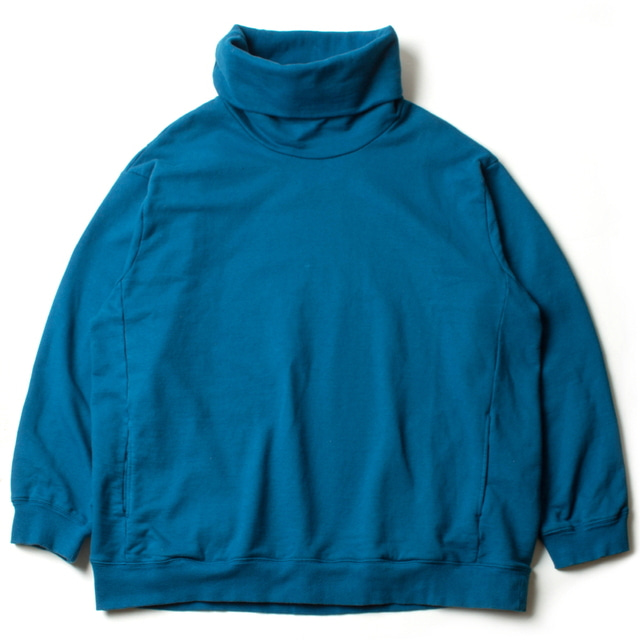 HIGH NECKED SWEAT_BLUE