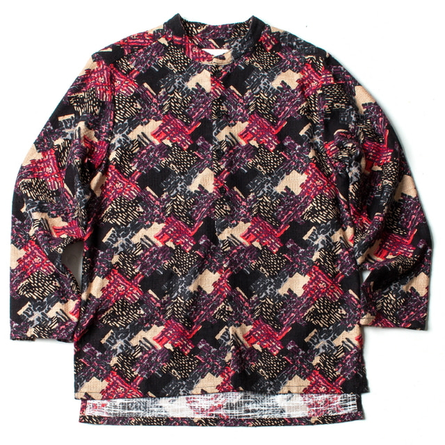 PULL OVER SHIRT_CRAZY PRINT