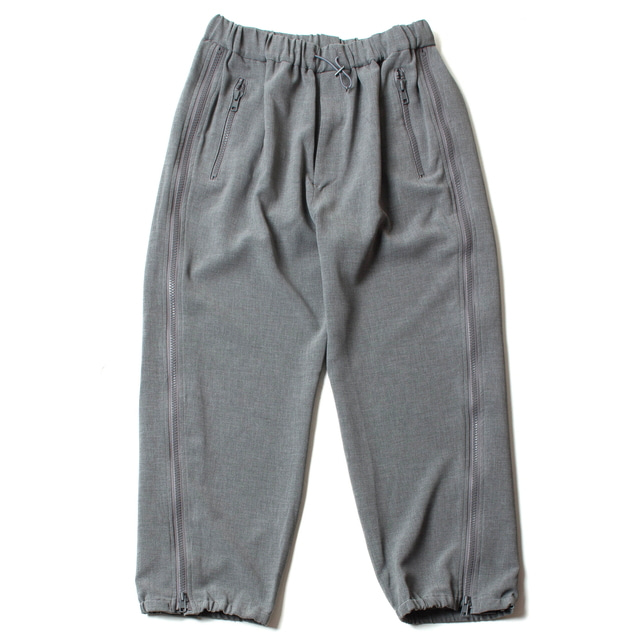 P/P SIDE ZIP WIDE PARASHOOT PANTS_GRAY