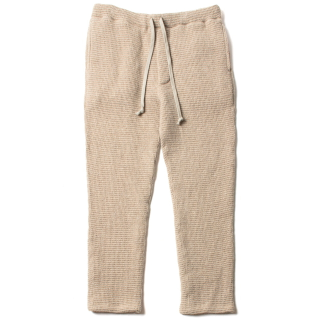 SLIM SWEAT PANTS_BEIGE