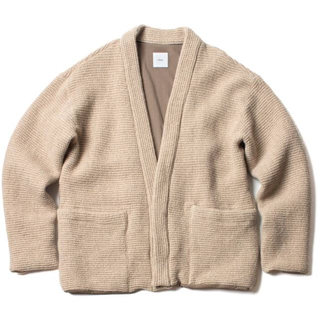 LINED EASY CARDIGAN_BEIGE