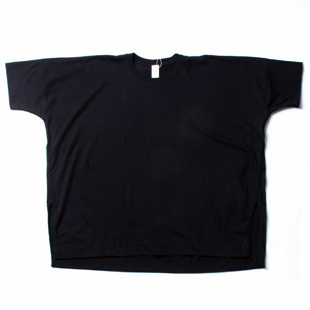 EX_WIDE T_SHIRTS_BLACK