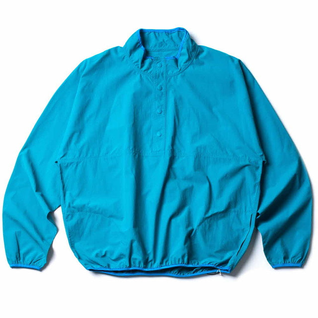 SNAP PULLOVER_TURQUOISE