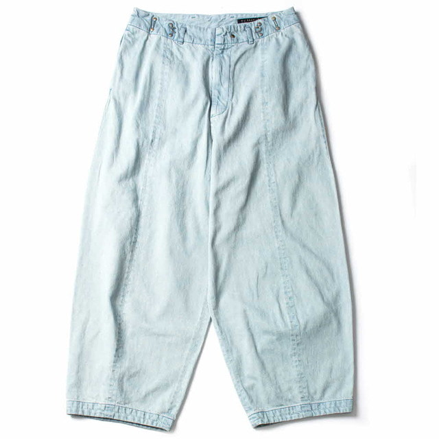 BIG DENIM PANTS_BLEACH