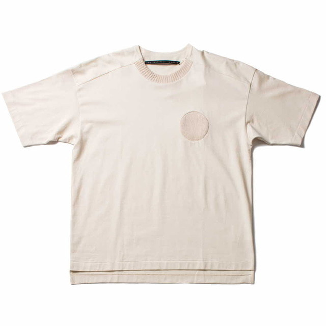 PLAIN STITCH T-SHIRT_IVORY