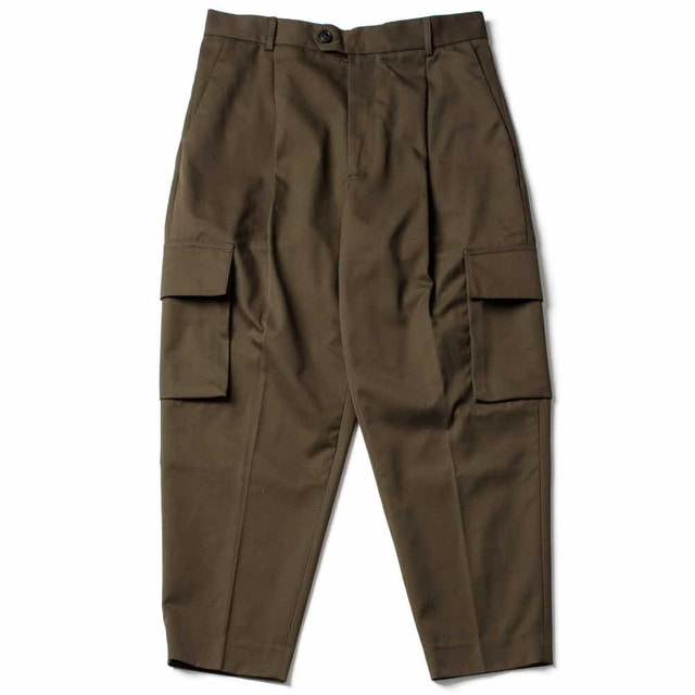 GROUND CARGO PANTS_KHAKI