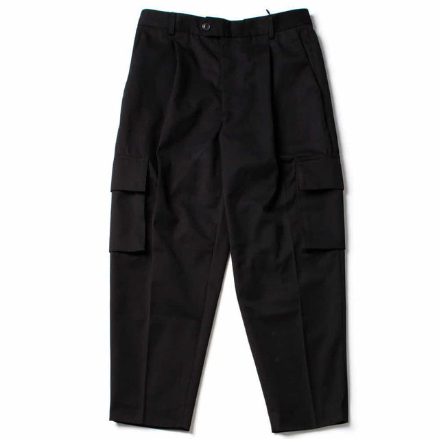 GROUND CARGO PANTS_BLACK