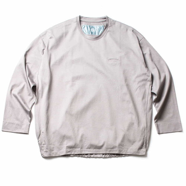BALLOON LONG T_GRAY