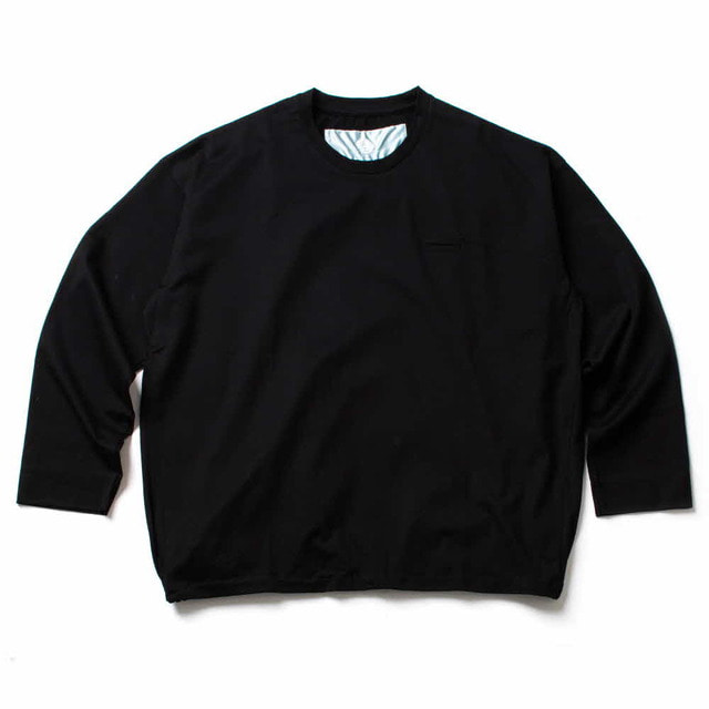 BALLOON LONG T_BLACK