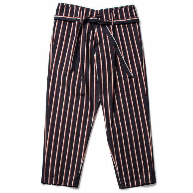 OLIVIER PANT_NAVY/ORANGE STRIPE