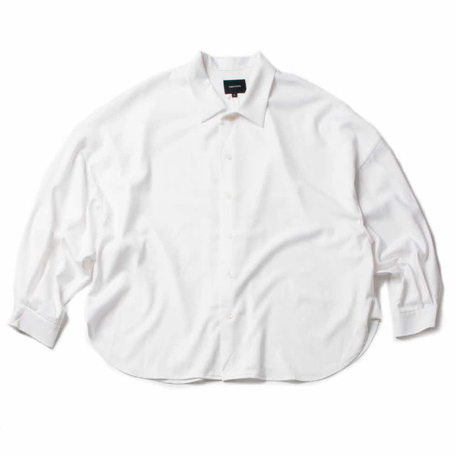 BIG SHIRT-GABARDINE_WHITE