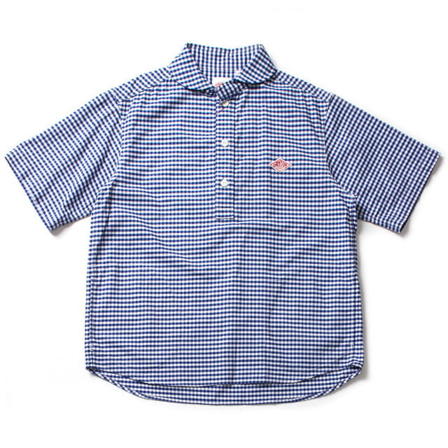 JD_3569 TRD OXFORD PLAID SHIRT_BLUE