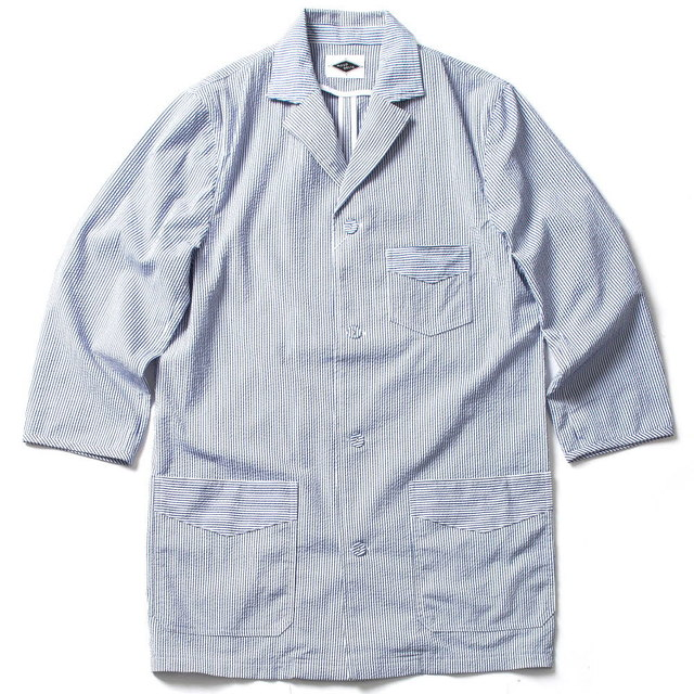 SLEEPING SHIRTS_WHITE / NAVY