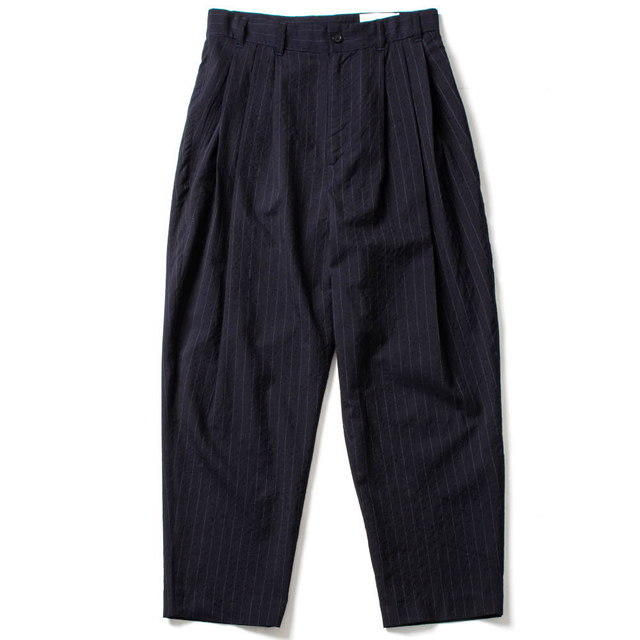 FOUR PLEAT PANTS_NAVY