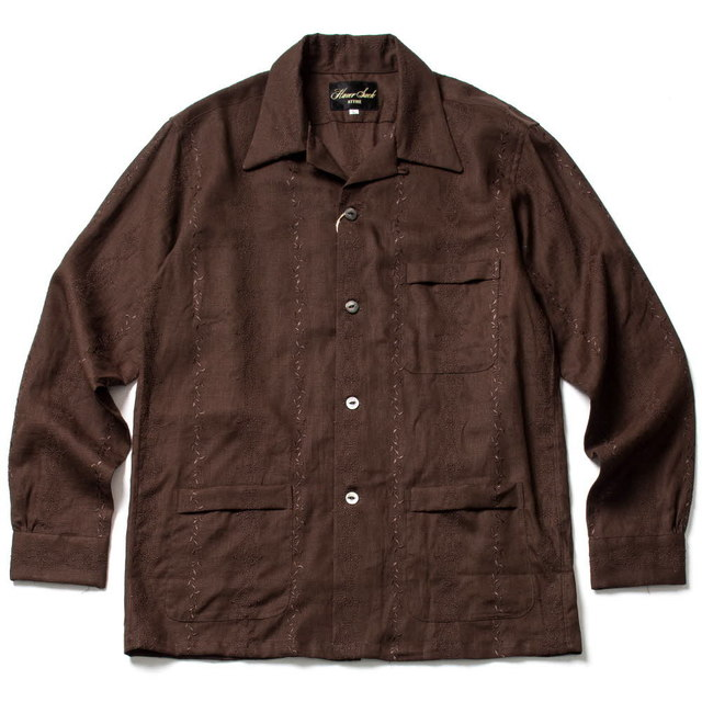 821809 SHIRT_BROWN