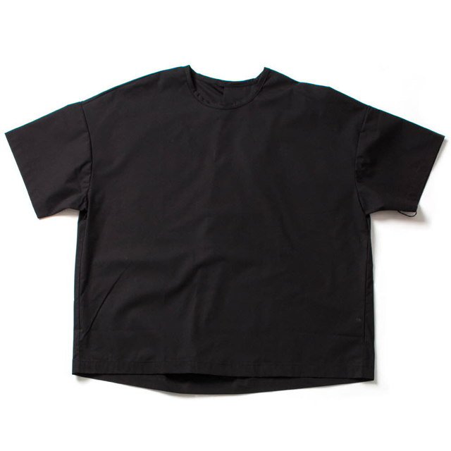 COTTON BIG TEE_BLACK
