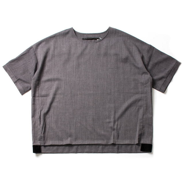 SUMMER WOOL BIG T-SHIRT_GRAY