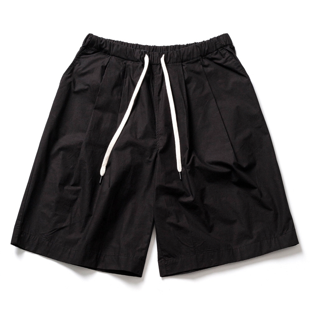 WHARF CHINO S.PANTS_BLACK