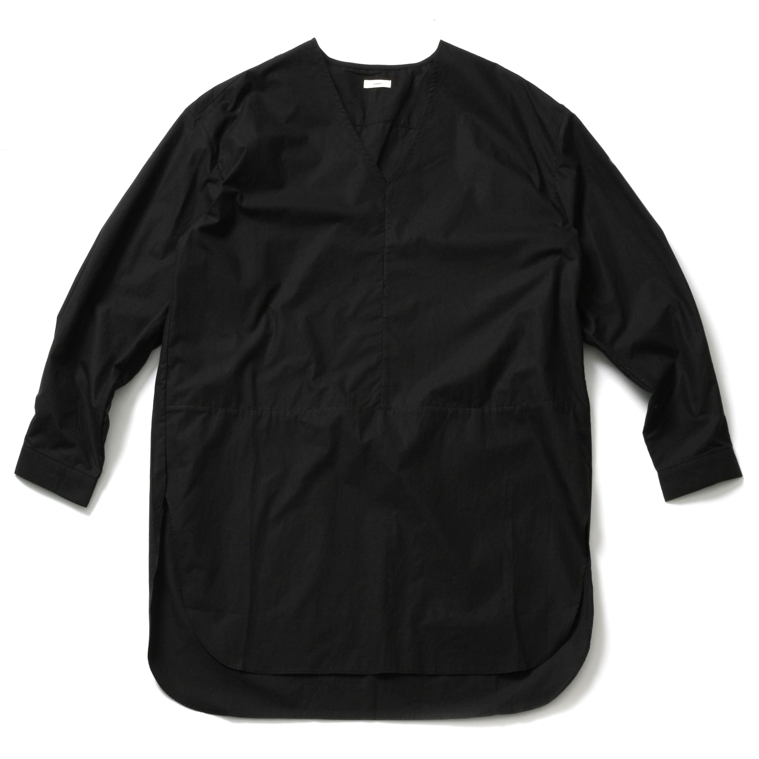 WHARF LAYERED SHIRT_BLACK
