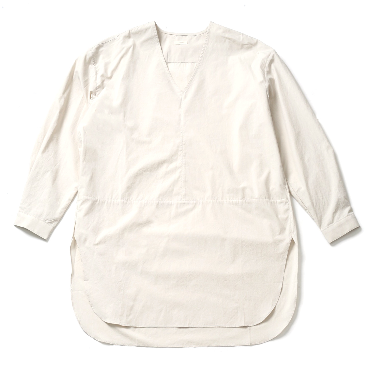 WHARF LAYERED SHIRT_NATURAL