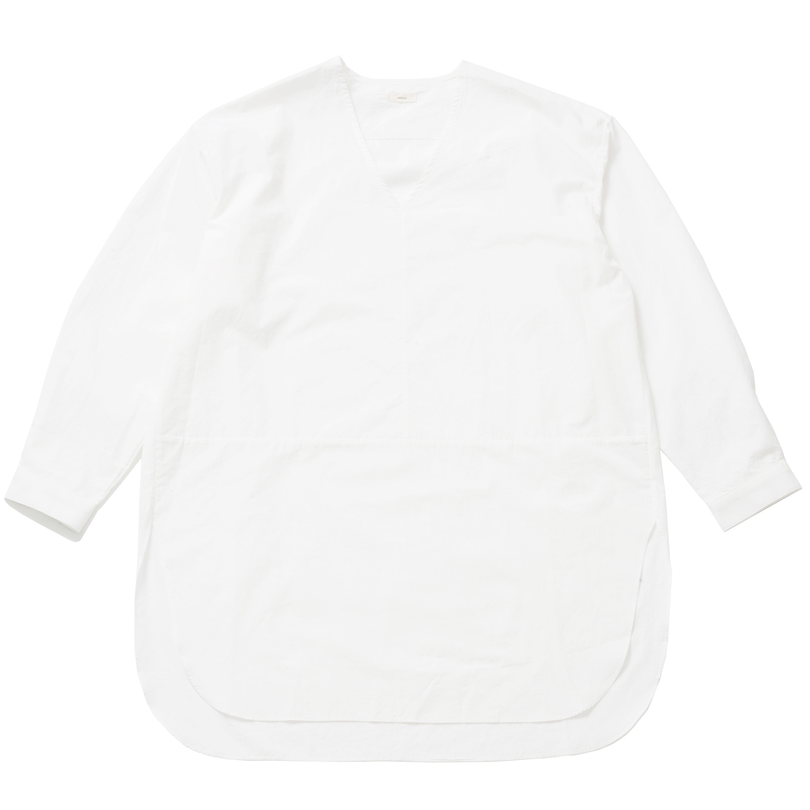 WHARF LAYERED SHIRT_WHITE