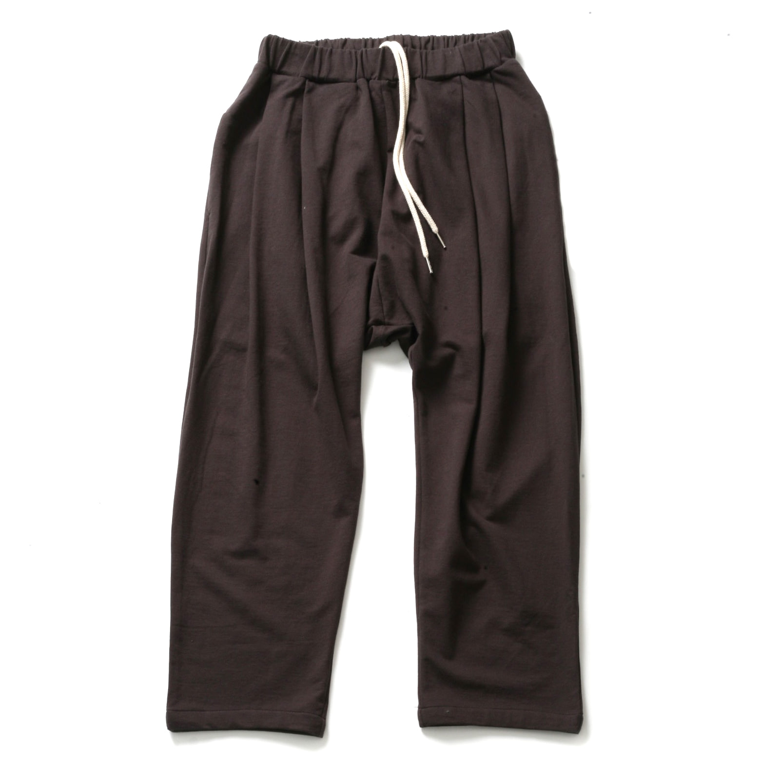 WHARF SWEAT PANTS_BROWN