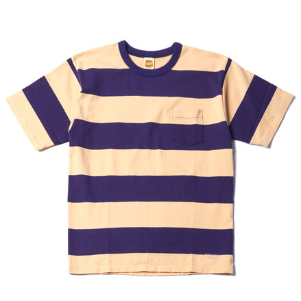 WIDE BOEDER S/S TEE - GRAPE
