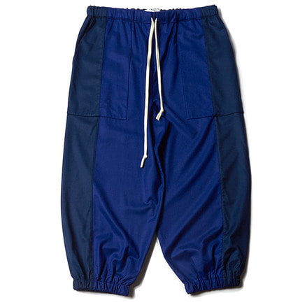 JERSEY TROUSERS _ DOUBLE BLUE