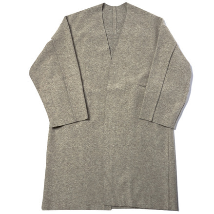 CARDIGAN COAT - BEIGE GREY