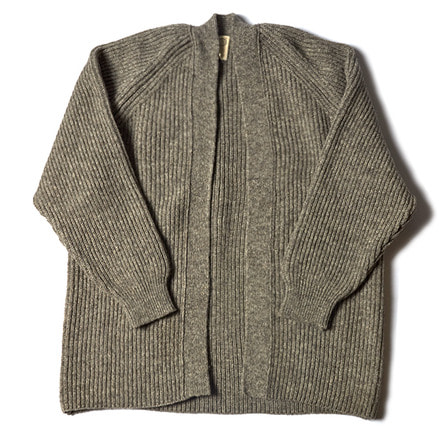 KNITTED CARDIGAN _ GREY