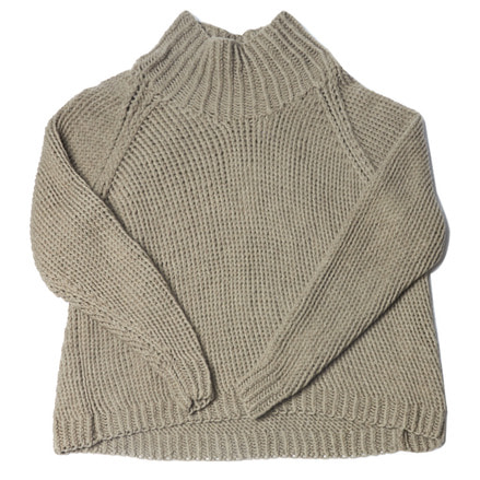 KNIT#40 - NATURAL GREY YAK
