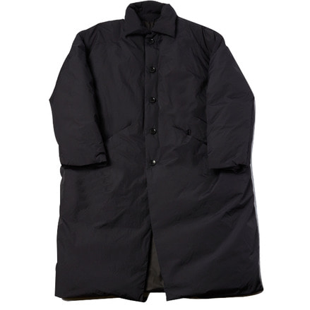 LONG DOWN COAT - BLACK