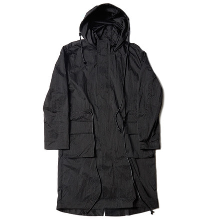 HOODED PARKA_BLACK