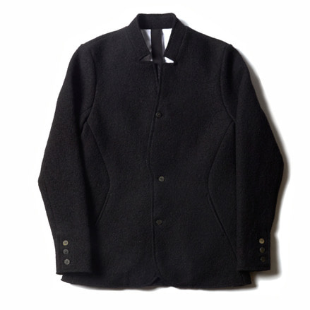 SMARI WOOL BLAZER_BLACK