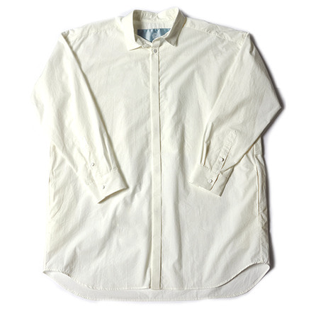 TRENCH SHIRT _ WHITE