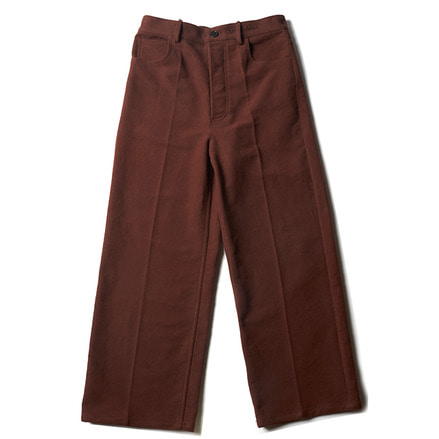 RAVER'S PANTS_BROWN