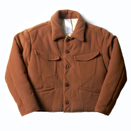 PUFFY JACKET_BROWN