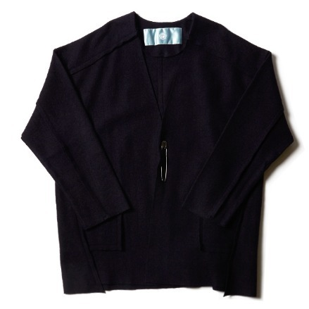 D218-C1323 COAT_DARK NAVY