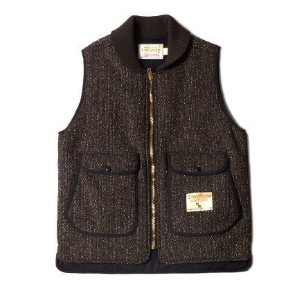 TROPHY CLOTHING BROWNS STORM VEST