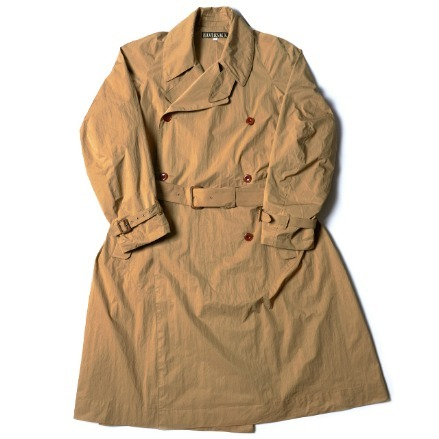 CROSS TRENCH COAT_BEIGE