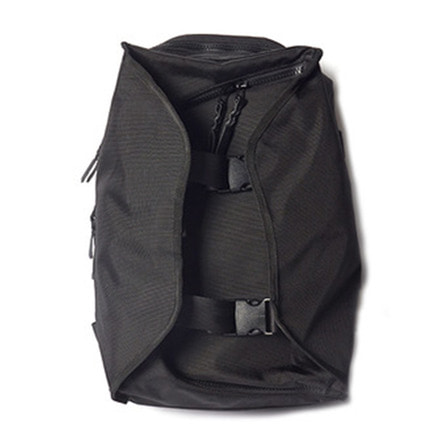 DOUBLE STRAP BACK PACK BP01_BLACK_1