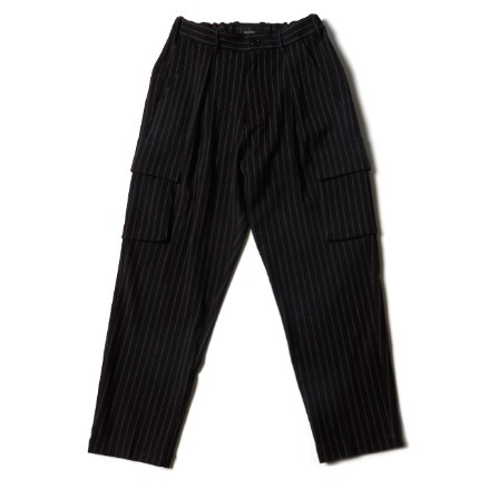 UTILITY CARGO TROUSER_DOUBLE STRIPS