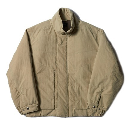 STAND BALLOON JACKET_BEIGE