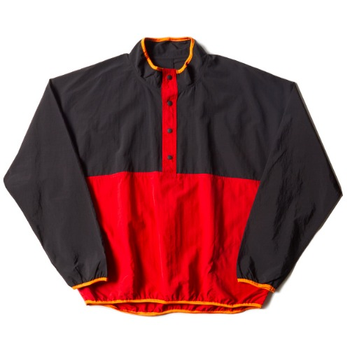 SNAP PULLOVER_RED/BLACK