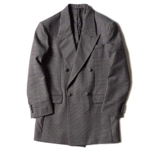 DOUBLE BREASTED BLAZER_CHECK