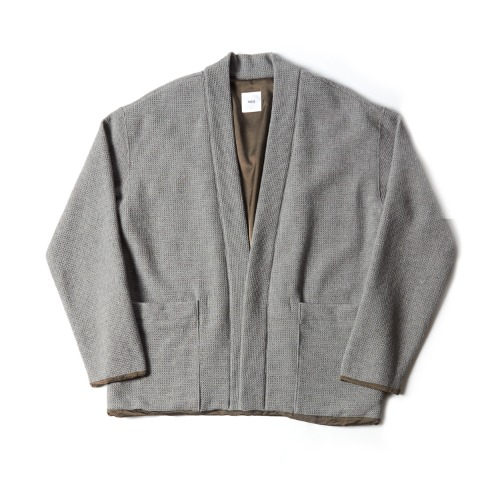LT39XC05 LINED EASY CARDIGAN_GRAY