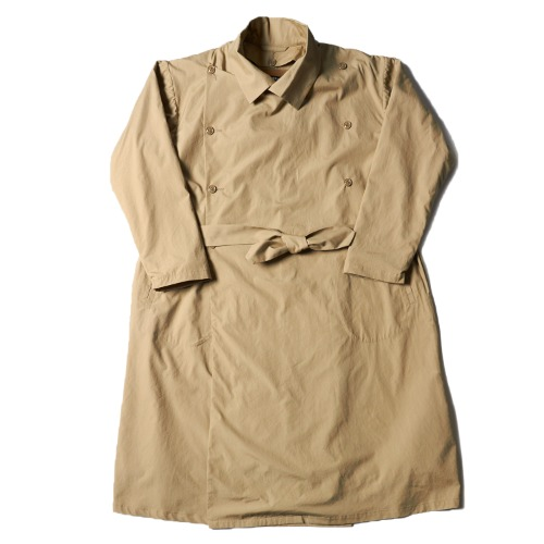 FRENCH ARMY TRENCH COAT_KHAKI