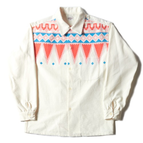 VINTAGE CORDUROY PRINTED SHIRTS_NATIVE